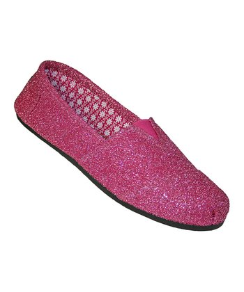 Hot Pink Frost Loafer - Women