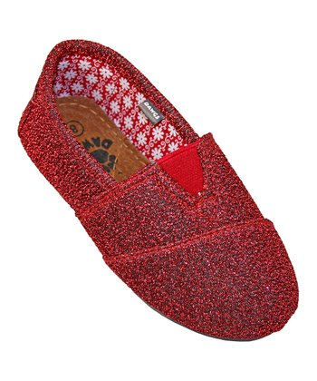 Dark Red Frost Loafer - Kids