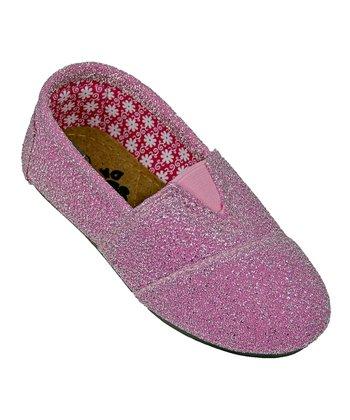 Pink Frost Loafer - Kids