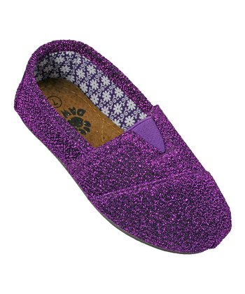 Purple Frost Loafer - Kids