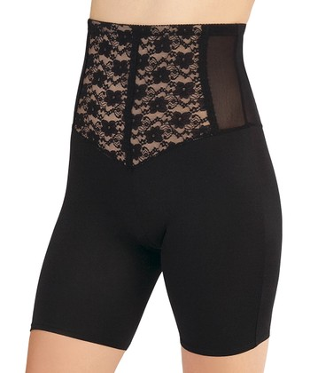 Black Fit for Seduction High-Waist Shaper Shorts - Women