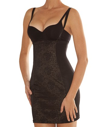 Black Hold Me Shape Me Shaper Under-Bust Slip