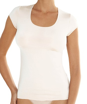 White Shaper Tee - Women