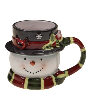 Jolly Snowman 16-Oz. 3-D Mug
