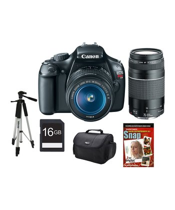 12.1 Megapixel Digital SLR Camera Set With 18-55 & 75-300 Lenses