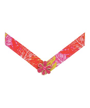 Pink & Orange Katarina Straps - Women