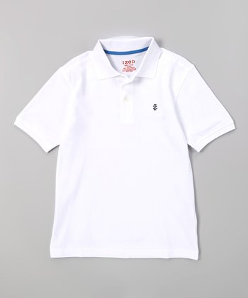 White Polo - Boys