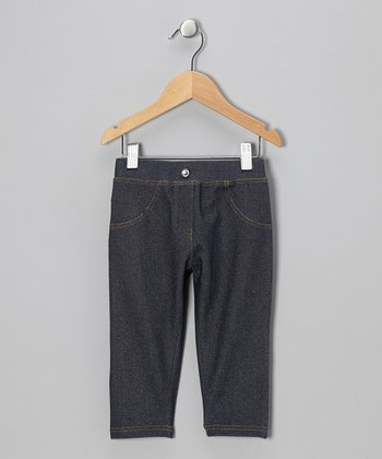 Denim Capri Pants - Toddler