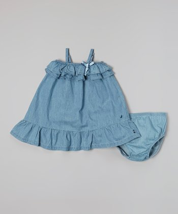 Medium Chambray Dress - Infant, Toddler & Girls