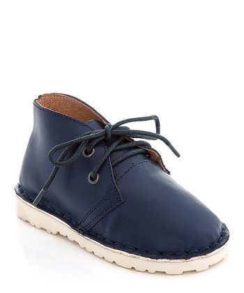 Navy Chukka Boot - Boys