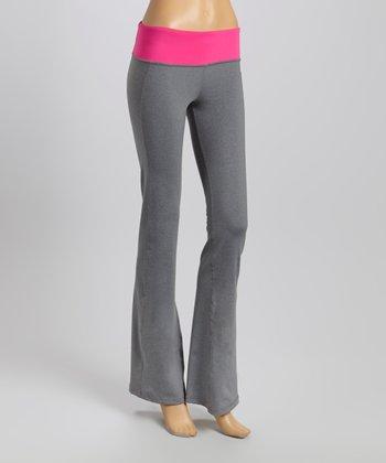 American Buddha by Yogi Fuchsia & Gray Active Pants