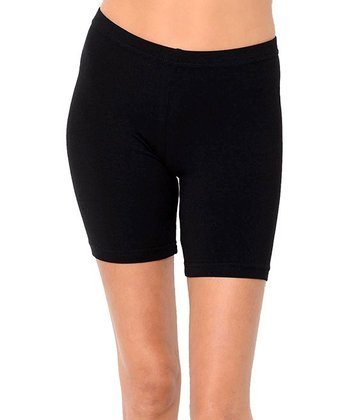 Black Organic Workout Shorts