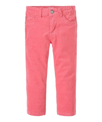 Ballet Pink Corduroy Skinny Pants - Infant, Toddler & Girls
