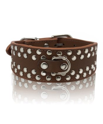 Furry Friends & Co. Cream Grommet Dog Collar