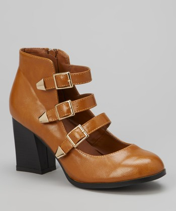 Tan Buckle Lucas Pump
