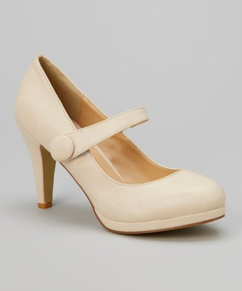 Nude Cody Mary Jane Pump