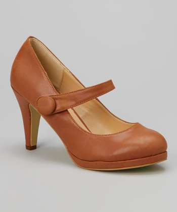 Brown Cody Mary Jane Pump