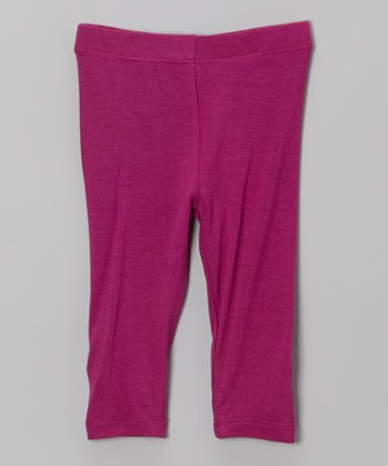 Berry Classic Leggings - Infant, Toddler & Girls