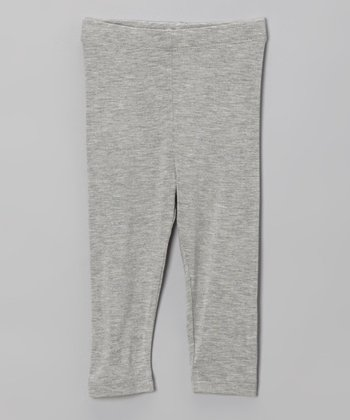Gray Classic Leggings - Infant, Toddler & Girls