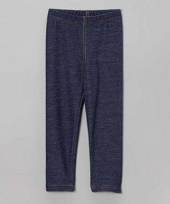 Blue Denim Jeggings - Infant, Toddler & Girls