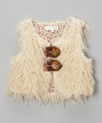 Ivory Faux Fur Vest - Infant, Toddler & Girls
