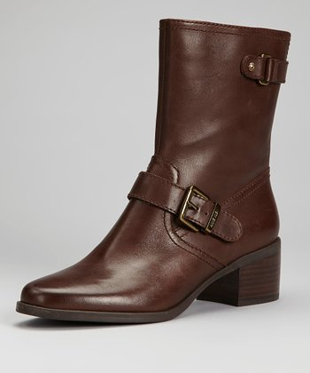 Dark Brown Junta Boot