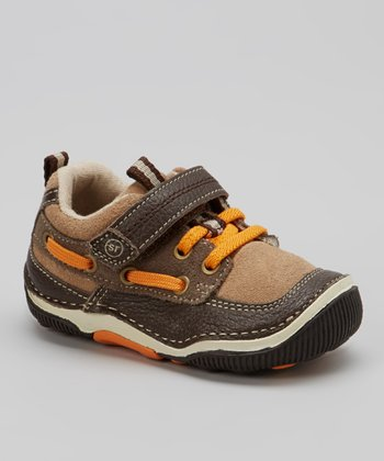 Espresso & Orange Mosby Sneaker