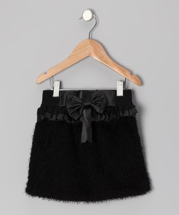 Black Miss Coco Skirt - Toddler & Girls