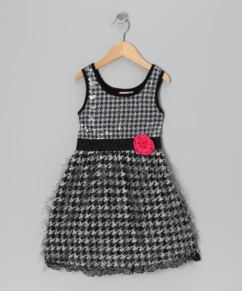 Black Miss Coco Dress - Toddler & Girls