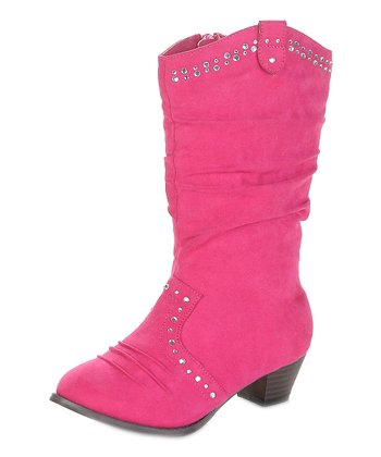 Fuchsia Mission Cowboy Boot