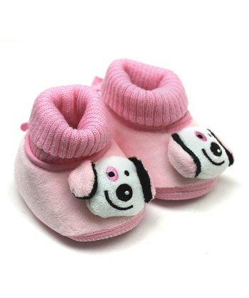 Pink Doggy Bootie
