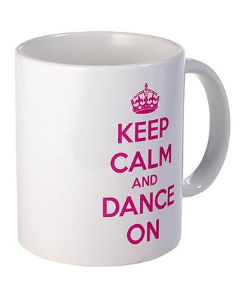 'Keep Calm and Dance On' Mug