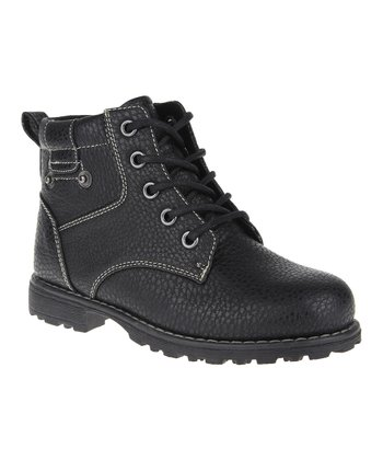 Black Pocket Boot