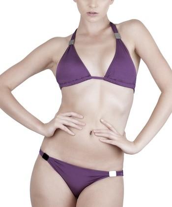 Plum Grecian Bikini