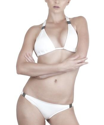 White Grecian Bikini