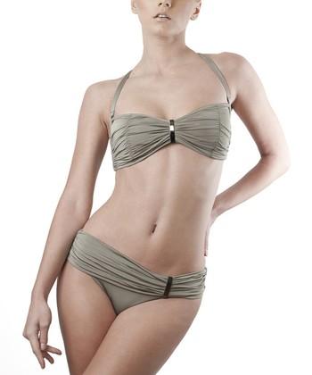 Moss Bandeau Bikini