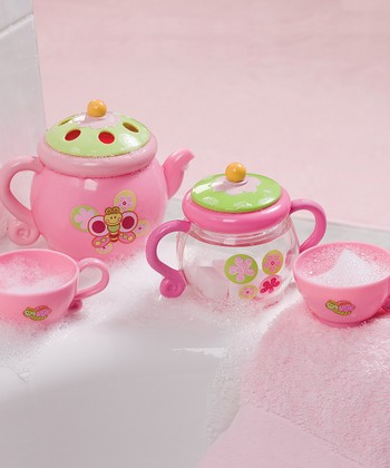 Pink Tub Time Tea Party Set