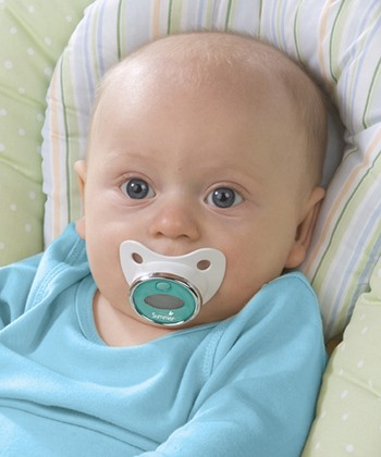 Blue Pacifier Thermometer