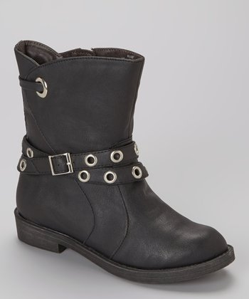Black Ellice Boot