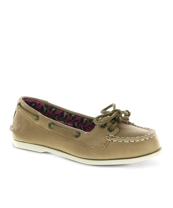 Brown Audrey Boat Shoe