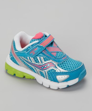 Blue & Pink Ride Running Shoe