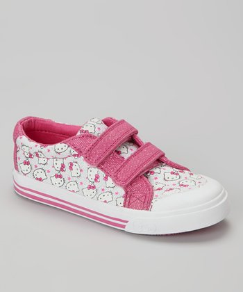 Pink & Silver Hello Kitty Sneaker