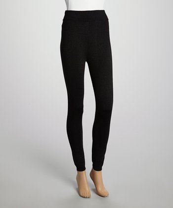 Black Luxe Leggings