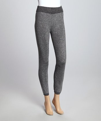 Charcoal Luxe Leggings