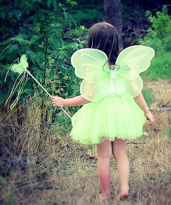 Green Fairy Princess Set - Infant, Toddler & Girls