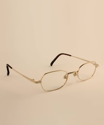Gold Thin Frame 45 mm Eyeglasses