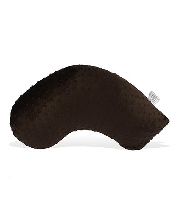 Brown Minky Dot On-the-Go Nursing Pillow & Slipcover