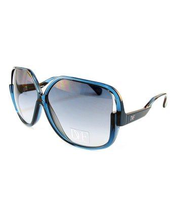 Blue Dusk Square Sunglasses