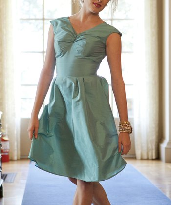 Turquoise Lily Dress