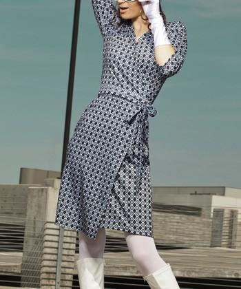 Blue Mad for Mod Dress